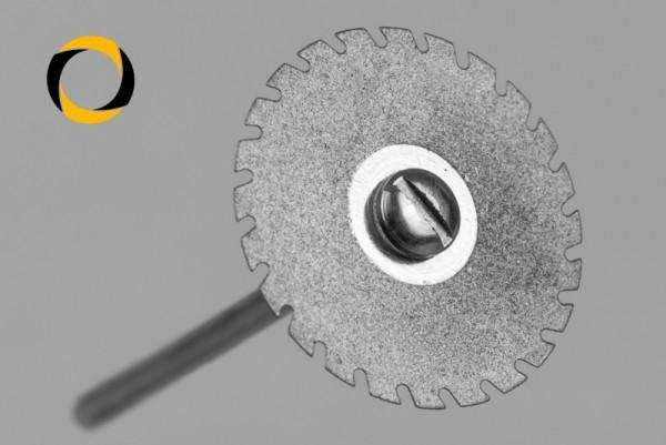 Trennscheibe Typ CM Durchmesser 22mm Stärke 0,2mm